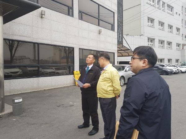 동두천시 부시장, 장례식장 국가안전대진단 안전점검 실시