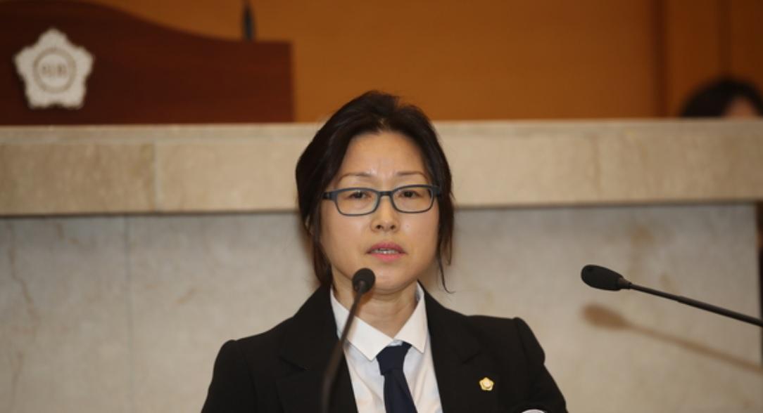 공숙희 포항시의원, 추모공원 건립 주장