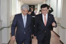 정진엽 장관, 日국립의료연구센터 방문(4.15)